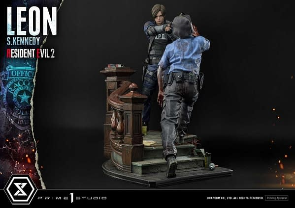 Resident Evil 2 Leon and Claire Are Back to Back with Prime 1 Studio
