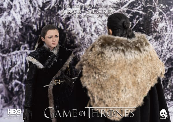 Game of Thrones Arya Stark Season 8 Figure Lands at threezero