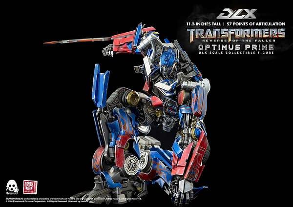 New Transformers: Revenge of the Fallen Optimus Prime From Threezero
