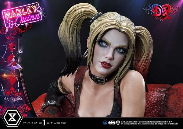 Harley Quinn Returns to Arkham City With New Prime 1 Studio Statue