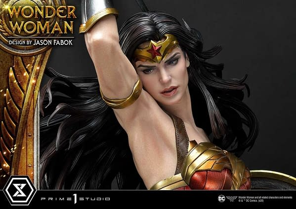 Wonder Woman Fights the Hydra in New Prime 1 Studio Statue