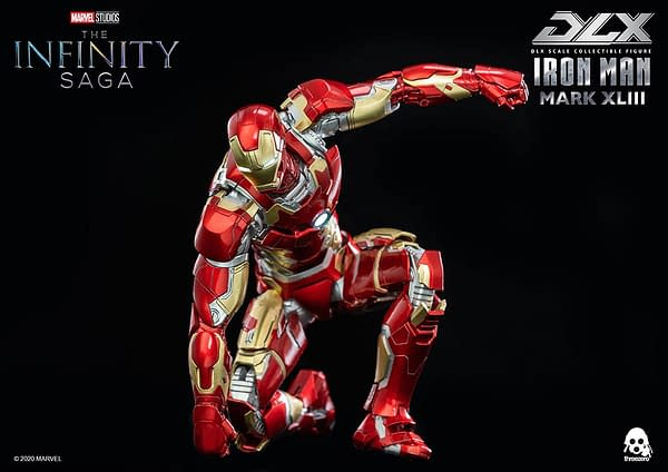 Iron Man Gets New Age of Ultron Figure From threezero