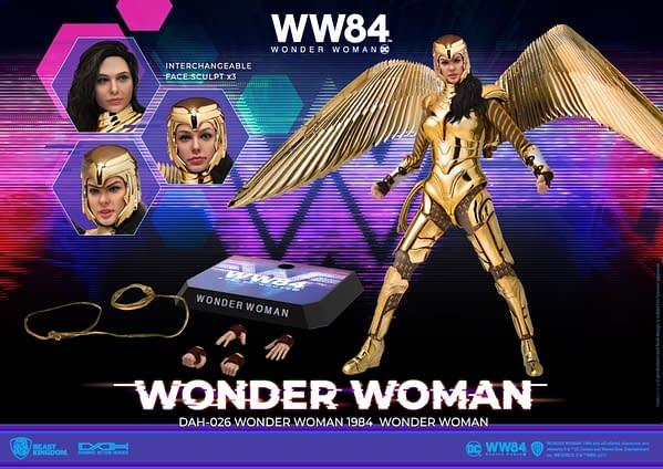 Wonder Woman 1984 Gets Dynamic With Beast Kingdom