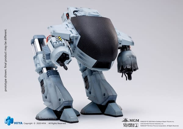 Protect Old Detroit With New RoboCop ED-209 Figure from Hiya Toys