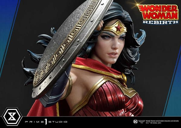 Wonder Woman Rebirth 1/3 Statue Revealed by Prime 1 Studio