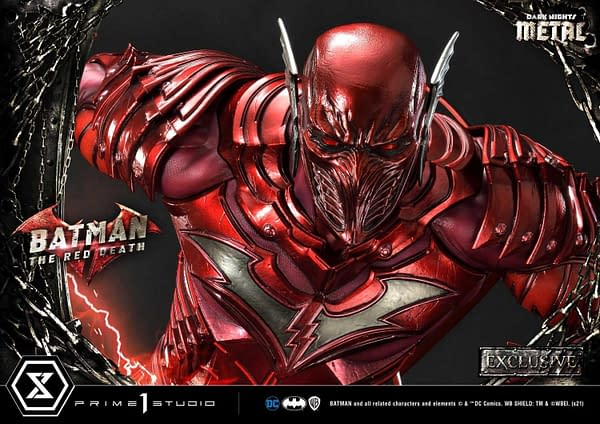 DC Comics Red Death Speeds on In With New XM Studios Statue