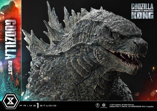 Godzilla Prepares To Battle Kong With New Prime 1 Studio Statue