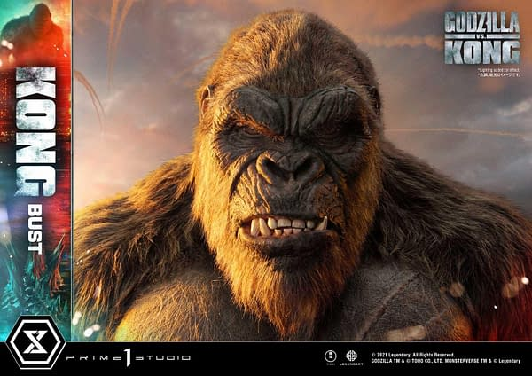 Prime 1 Studio Reveals New Mighty Kong Bust From Godzilla vs Kong