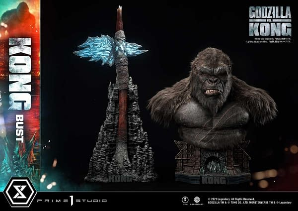 Prime 1 Studio Reveals New Beastly Kong Bust From Godzilla vs Kong