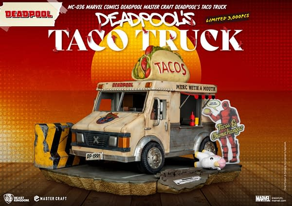 Deadpool's Taco Truck Drives On It With Beast Kingdom's New Release