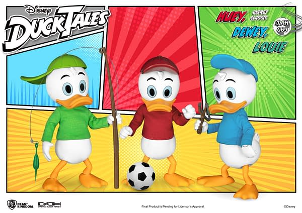 DuckTales Comes to Life With Beast Kingdom's Newest Disney Release