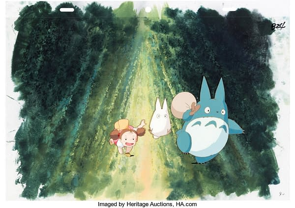 My Neighbor Totoro Production Cel On Auction At Heritage Auctions
