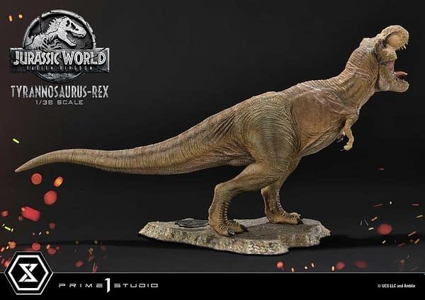 Prime 1 Studio Reveals Jurassic World Fallen Kingdom T-Rex Statue