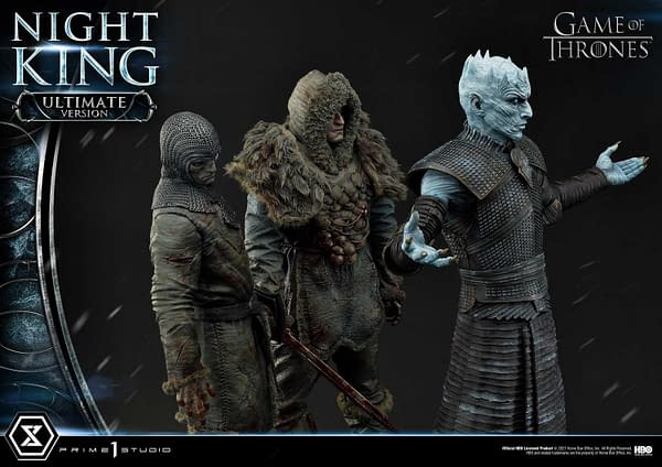 The Night King Arrives With Prime 1 Studios New Game of Thrones Statue