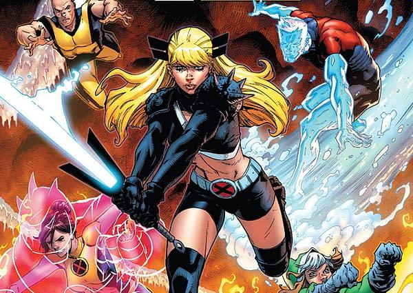 X-Men: Gold #25 cover by Ryan Stegman and Edgar Delgado