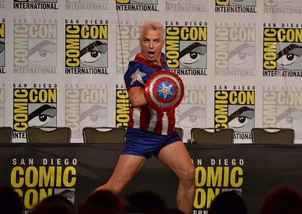Captina of Our Hearts – The John Barrowman Panel at San Diego Comic-Con