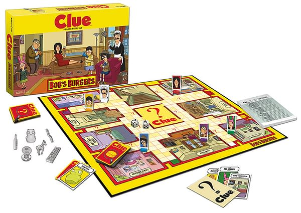 Bob's Burgers CLUE board (USAopoly)