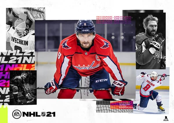 NHL 21 will be released on October 13th, 2020. Courtesy of EA Sports.