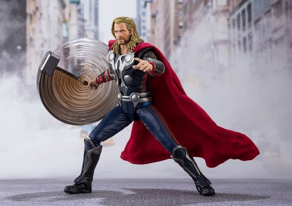 Thor Gets New Avengers Assemble Figure From S.H. Figurarts