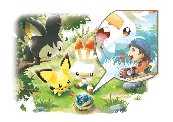 What new things will you find and trouble to get into with New Pokémon Snap? Courtesy of The Pokémon Company.