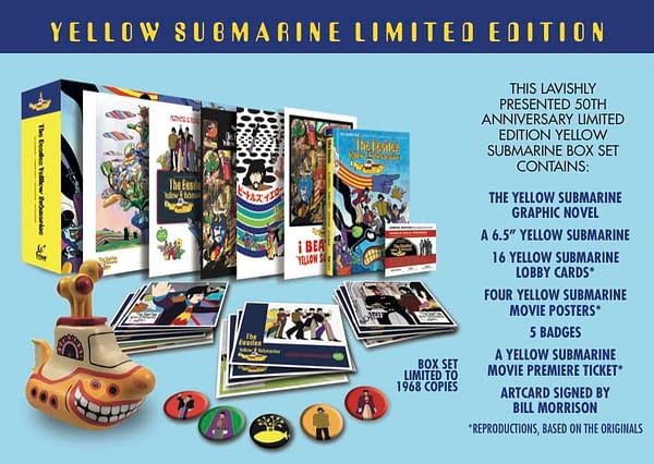 Trying to Understand Ringo – Bill Morrison on The Beatles Yellow Submarine Graphic Novel at San Diego Comic-Con
