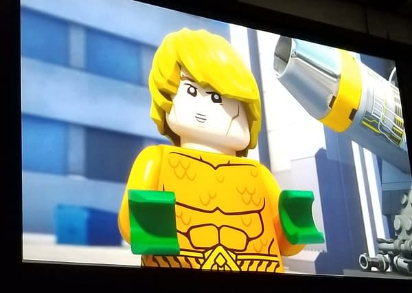 Getting Soaked at the World Premiere of 'LEGO DC Comics Superheroes Aquaman: Rage of Atlantis' [SDCC]