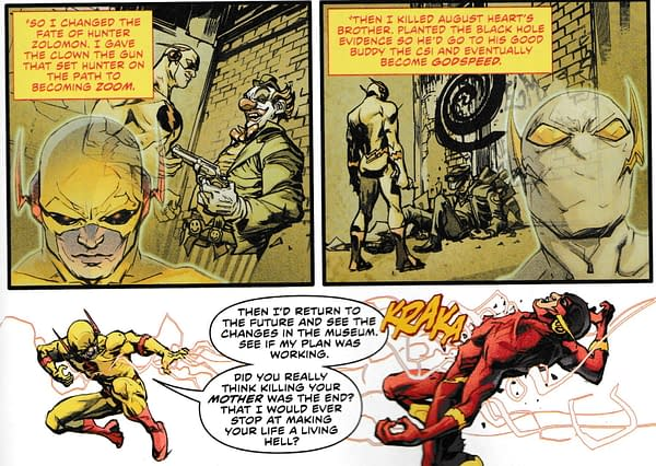 Reverse Flash Explains What Wally West Did in Heroes In Crisis