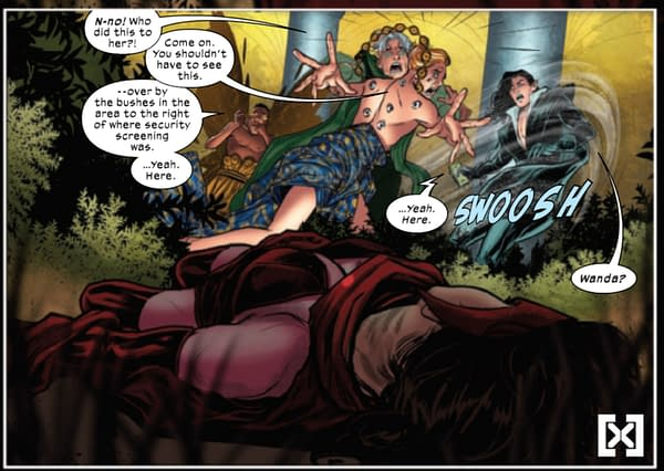 Marvel Comics And The Scarlet Witch (Spoilers)