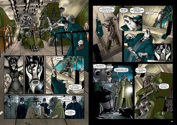 Grandville: Integrale Graphic Novel