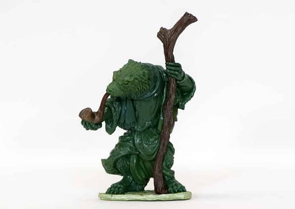 See a Miniature Come to Life for Osprey Games' Burrows & Badgers