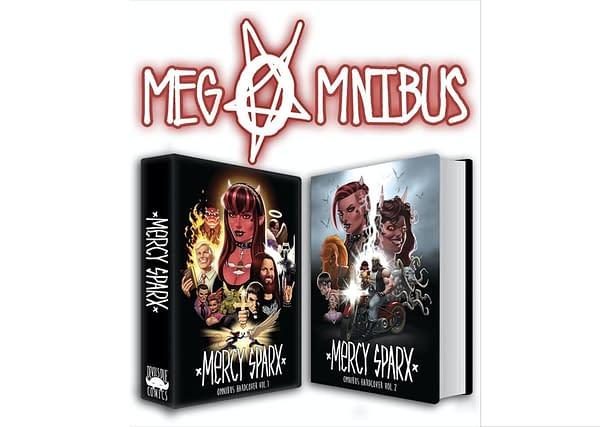 Mercy Sparx Megomnibus covers. Credit: Devil's Due