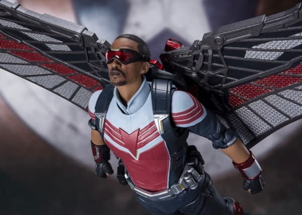The Falcon and the Winter Soldier Sam Wilson Lands at S.H. Figuarts