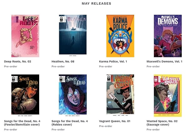 Vault Comics Launches 'BookIt' Online Preorder Service with 20 Retailers