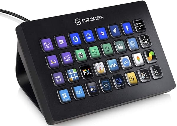 More buttons and a bigger deck make the Elgato Stream Deck XL stand out, courtesy of CORSAIR.