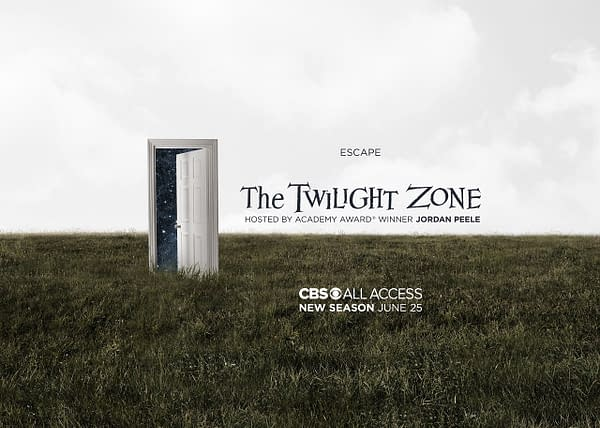The Twilight Zone is open for business next month, courtesy of CBS All Access.