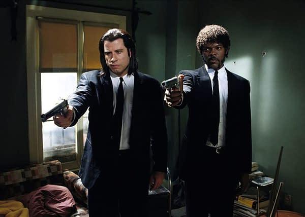 Pulp Fiction: John Travolta et Samuel Jackson se réunissent pour Capital One Ad