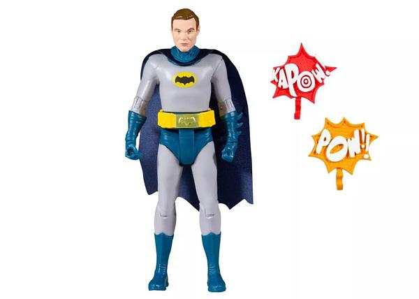 Batman 1966 Goes Unmaskedwith New McFarlane Toys Figure