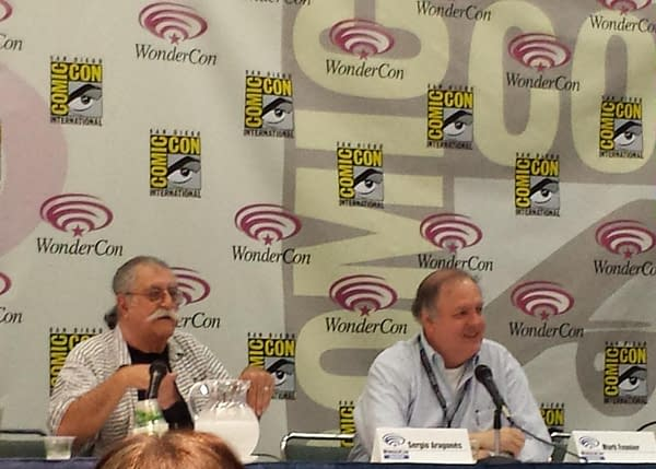 "The Mark, Sergio, Stan, And Tom Show SDCC Panel: ""Fancy Volumes"" On The Way For Groo"