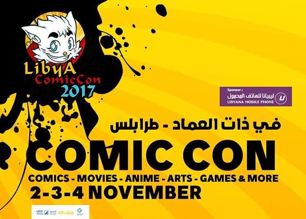 Libya Comic Con Shut Down By Military Police