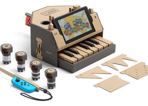 Ariana Grande and Jimmy Fallon to Groove with Nintendo Labo Instruments