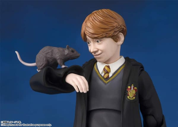 SH Figuarts Harry Potter Ron 6