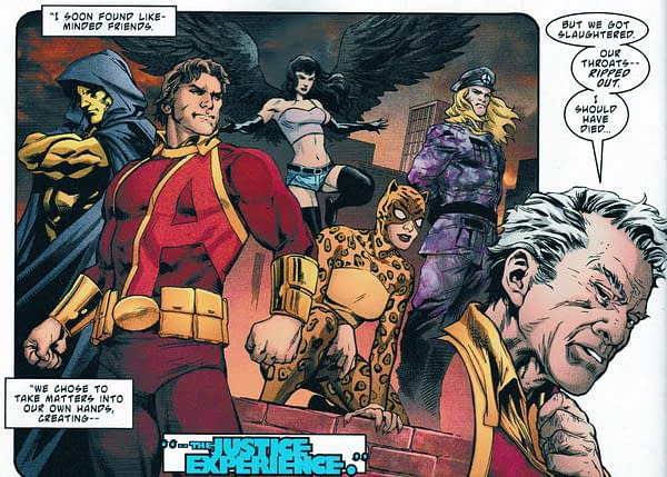 Return of a Silver Age DC Superhero Team: The Justice Experience