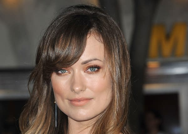 "Olivia Wilde at the Los Angeles premiere of her new movie ""In Time"" at the Regency Village Theatre, Westwood. October 20, 2011 Los Angeles, CA. Editorial credit: Featureflash Photo Agency / Shutterstock.com"