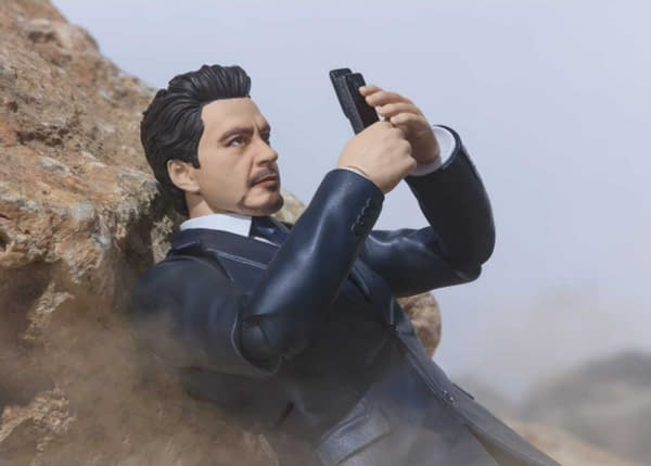 Tony Stark Begins His Journey With New S.H. Figuarts Figure
