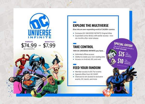 DC Universe To Stream Comics Internationally, Including Originals