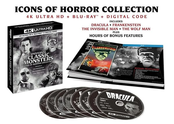 Universal Monsters Films Coming To 4K On October 5th