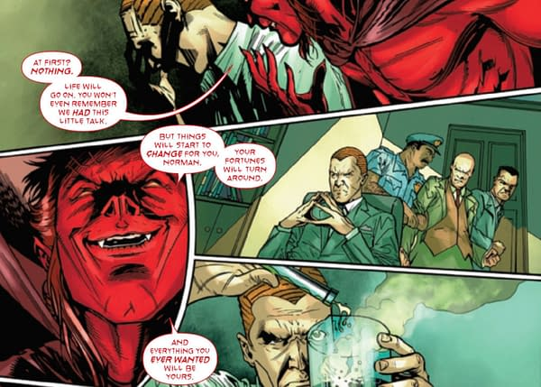 Mephisto, Green Goblin, Amazing Spider-Man #71 - Were We All Wrong?