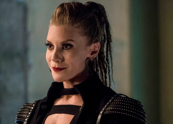 The Flash Season 4: Our First Look At Katee Sackhoff In Her Guest Role