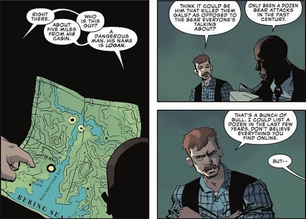 Exposing the Fake News About Bear Attacks in Wolverine: The Long Night #3