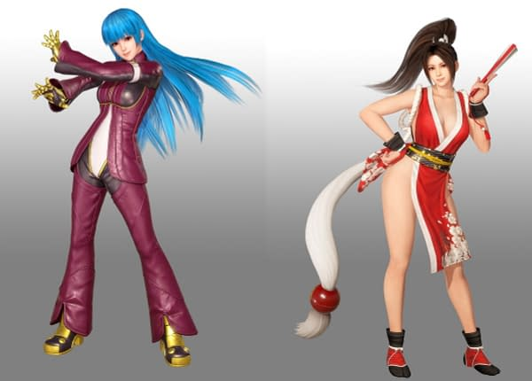 Dead Or Alive 6 Receives the King of Fighters XIV DLC Today